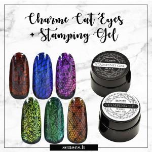 Charme Gel Cat Eyes 101