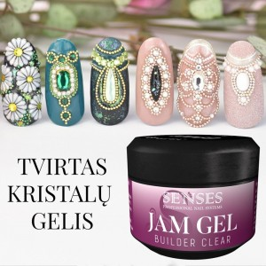 "Kristalų Gelis ""Jam Gel"" 5ml"