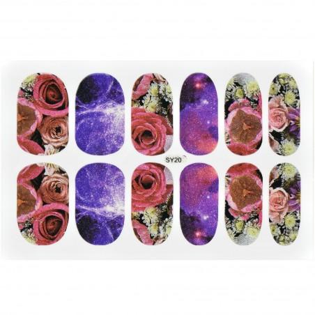 Holo blizgučiai Holo Nail Art - Holografiniai blizgučiai nagų dekoravimui.