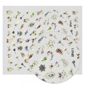Kristalai Kristalai Opal - Kristalainagų dekoravimui. Apie 720 vnt., skirtingų dydžių miksas.