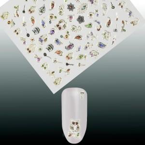 Kristalai Kristalai - Kristalainagų dekoravimui.Apie 720 vnt., skirtingų dydžių miksas.
