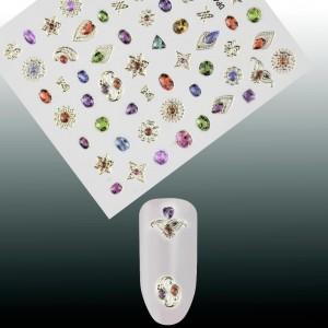Kristalai Kristalai - Kristalainagų dekoravimui.Skirtingų dydžių miksas, apie 720 vnt.