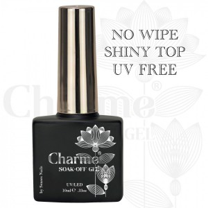 Charme Gel Top be UV filtrų...