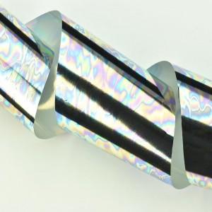 Juostelės Juostelė Sidabrinė 1 MM - Lipni juostelė nagų dekoravimui.Storis: 1 mm.
