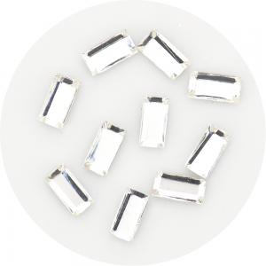 Kristalai Kristalai Nr.3 (Auksiniai) - Aukštos kokybės ne originalūs kristalainagų dekoravimui (100vnt) Nr.3 Spalva: Auksinė Dy