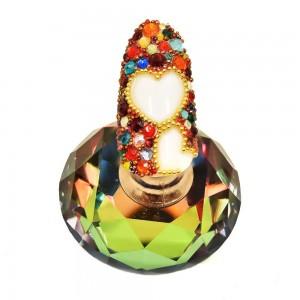 Kristalai Kristalai Opal Pink - Aukštos kokybės kristalainagų dekoravimui.Kiekis: 720vnt.Dydis: Įvairių dydžių Mix.