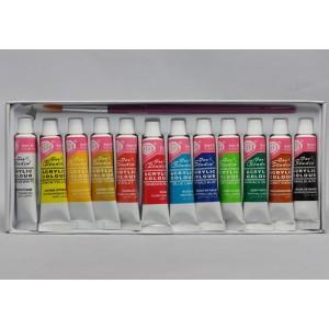 Geliniai dažai FLEX Light Caramel K-65 - Spalvoti geliniai dažai, numeris: k-65Tūris: 5ml