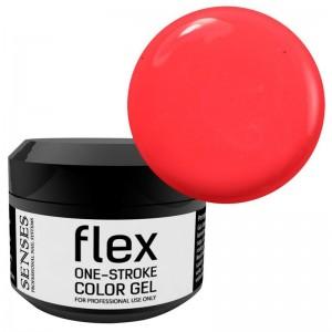 Geliniai dažai FLEX Neon Chilli K-72 - Spalvoti geliniai dažai, numeris: k-72Tūris: 5ml