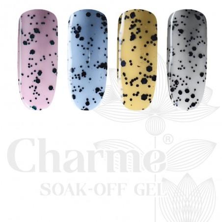 Charme Soak-Off Gel Charme Gel Color 35 - Puikios naujos formulės spalvotas gelinis lakas profesionaliam ir asmeniniam naudojimu