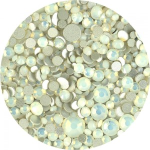 Kristalai Opal White